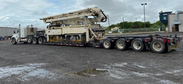 Shipping a Concrete Boom