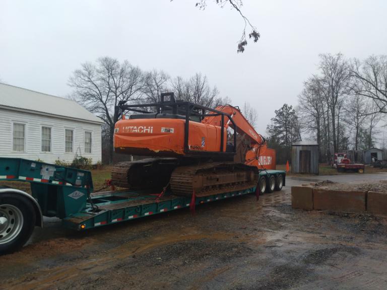 Hitachi 290 Excavator