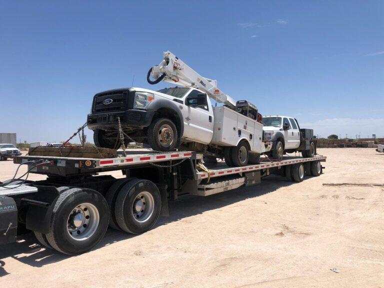 ford crane truck
