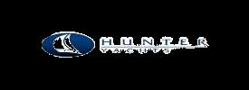 Hunter boat logo