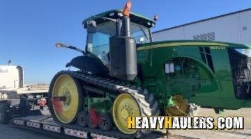 John Deere tractor transport