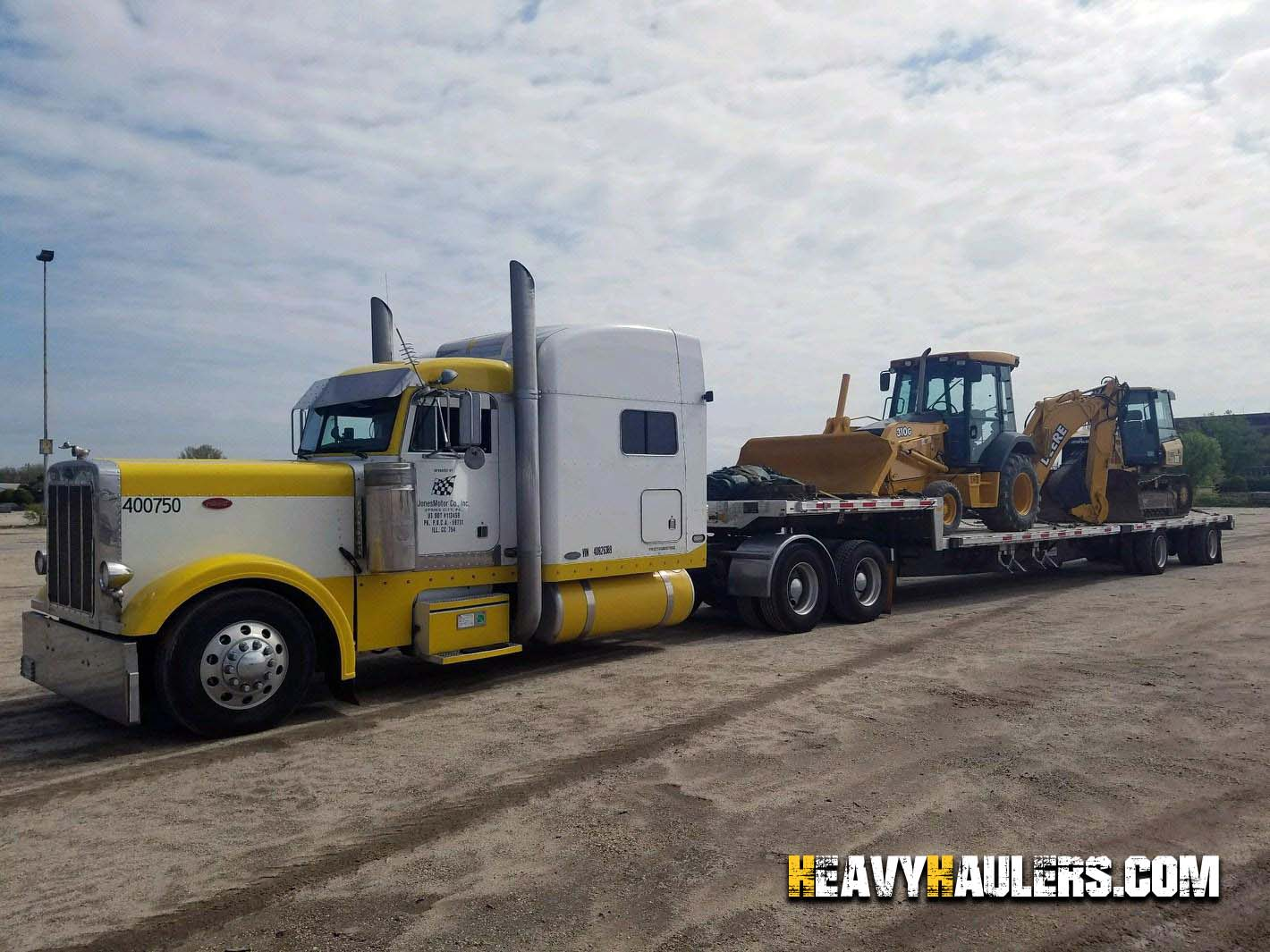 Backhoe Shipping Services   Heavy Haulers   (800) 908-6206