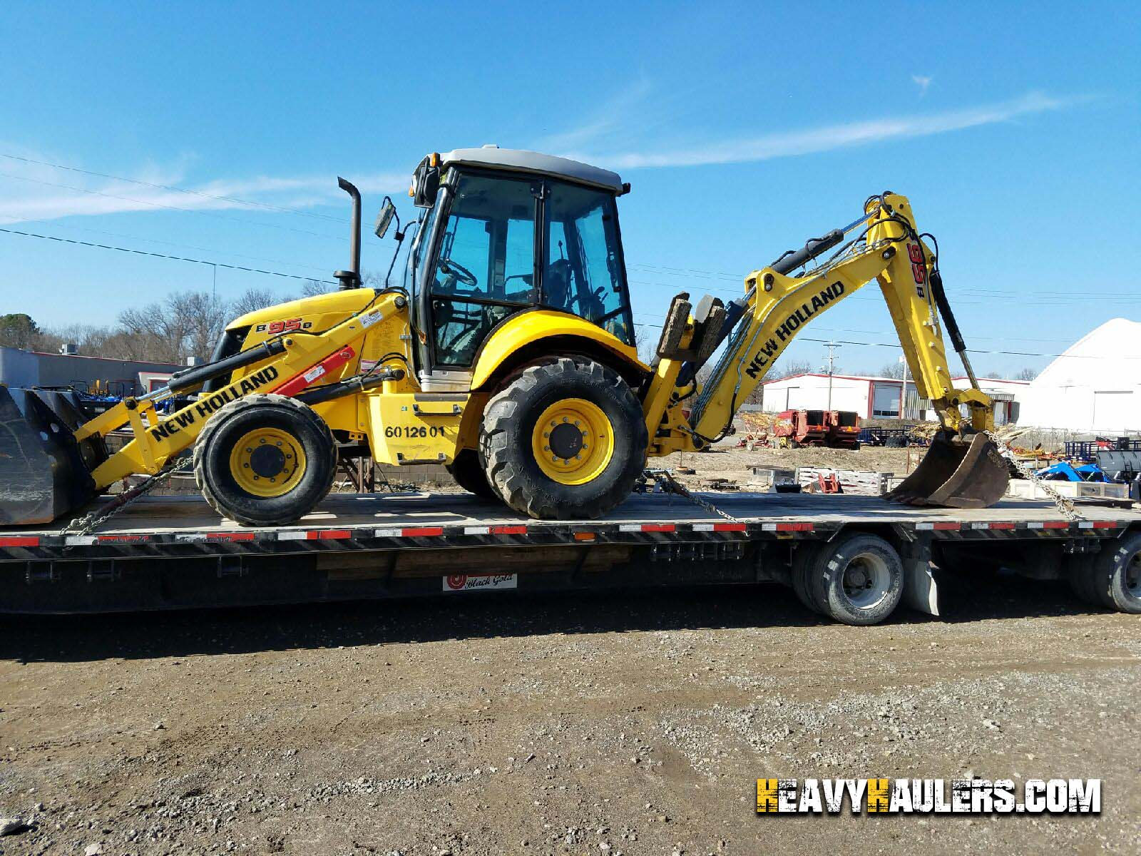 Backhoe Shipping Services Heavy Haulers 800 908 6206