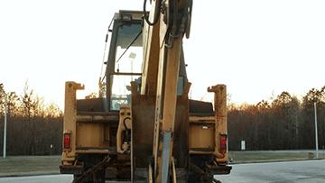 Shipping a backhoe loader in Minnesota