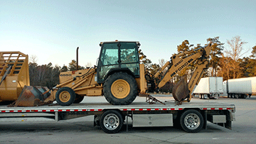 Backhoe Transportation