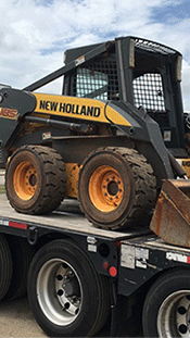 Shipping a New Holland Wheel Loader