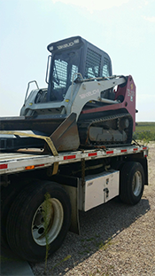 Shipping a Takeuchi Skid Steer
