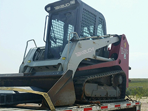 Case Forklift Shipping