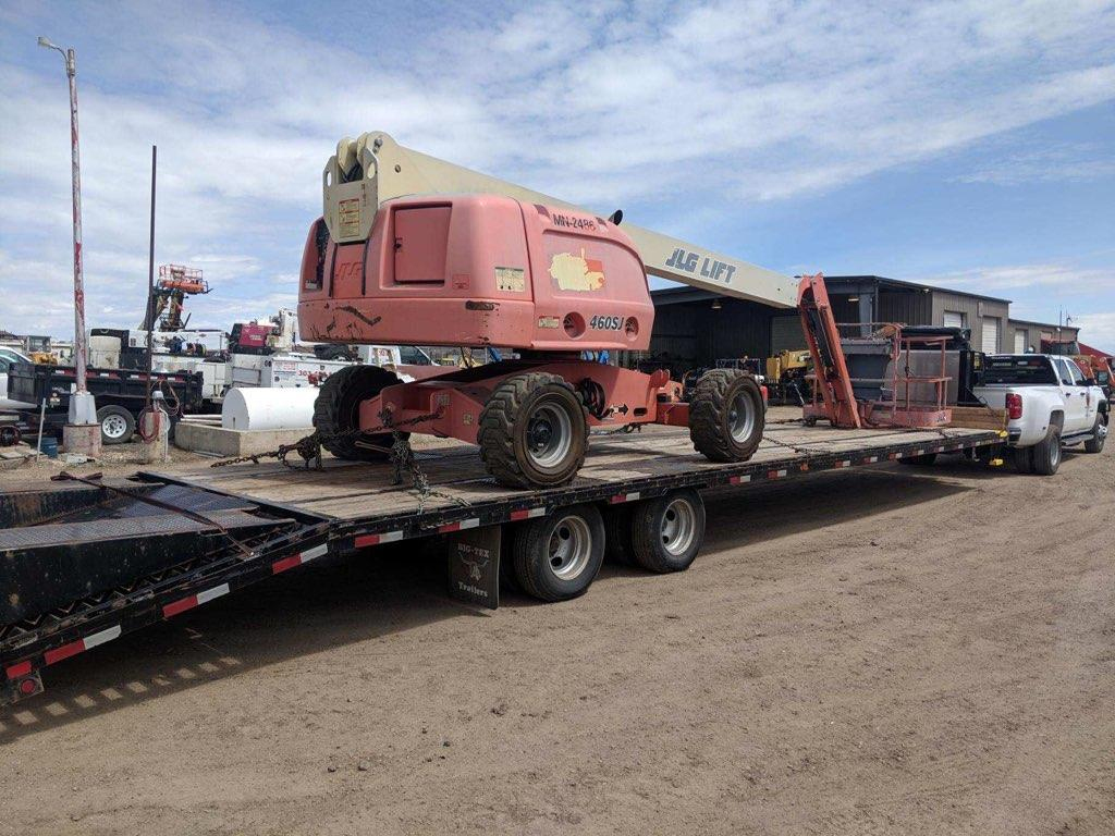 Boom Lift Shipping Services| Heavy Haulers | (800) 908-6206