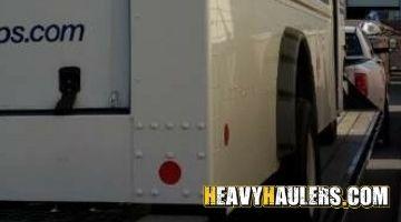 USPS TRUCK hauled from California to Arizona