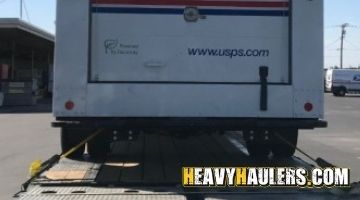 Shipping a heavy truck in New York