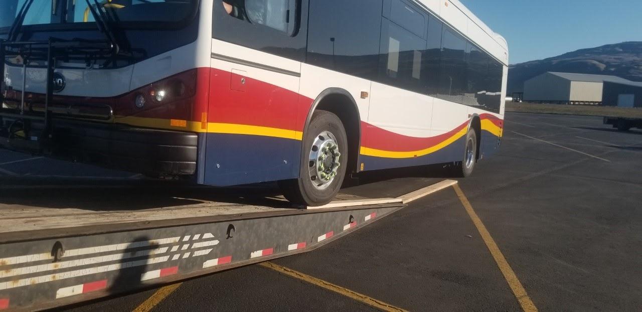 Shipping a bus in Washington