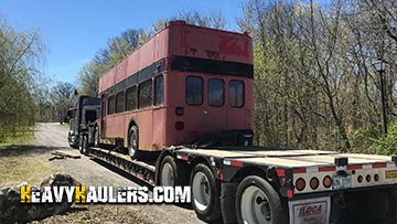 Transporting a 1965 Double Decker Bus