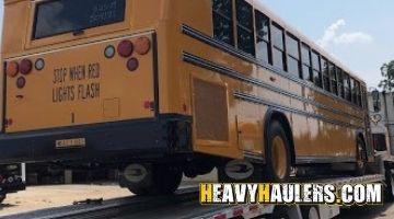 Schoolbus transport to Alabama