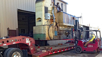 CNC Lathe Transportation