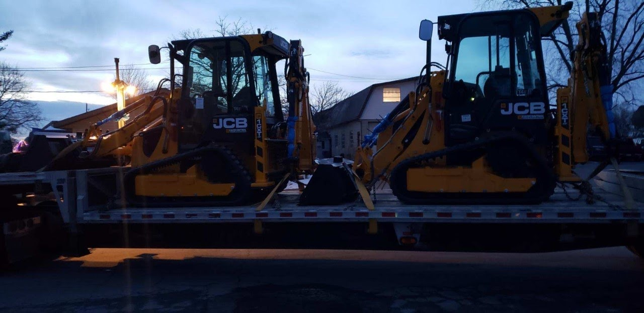 Shipping a backhoe in Rhode Island
