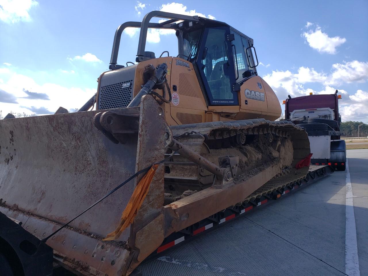 Shipping a bulldozer to Delaware