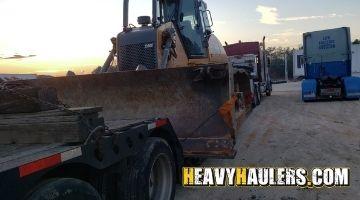 Shipping a bulldozer to Alabama