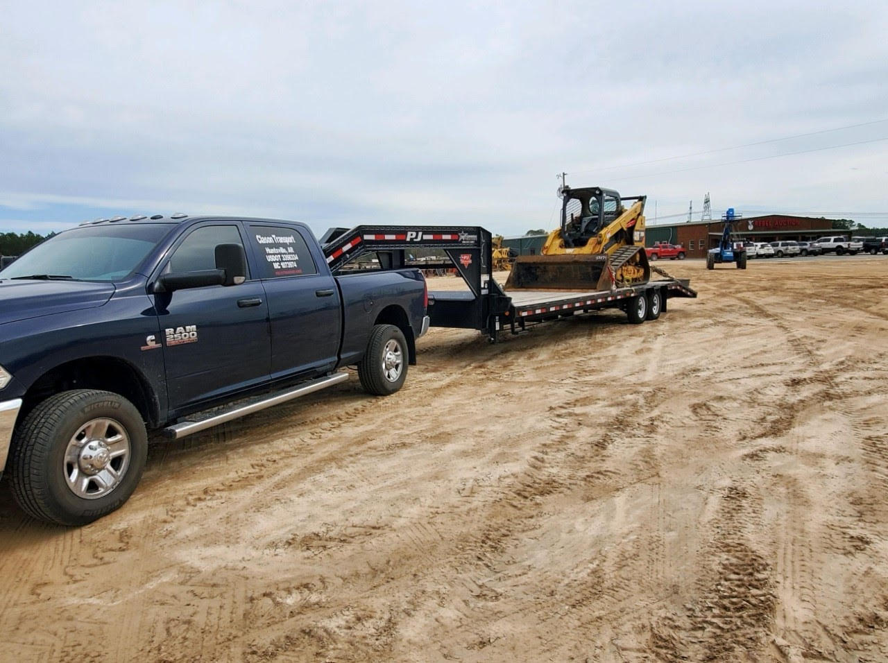 Shipping a skid steer in Georgia