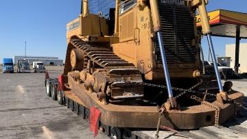 Caterpillar transport in Michigan