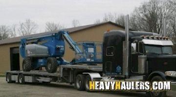 Genie Boom Lift transport
