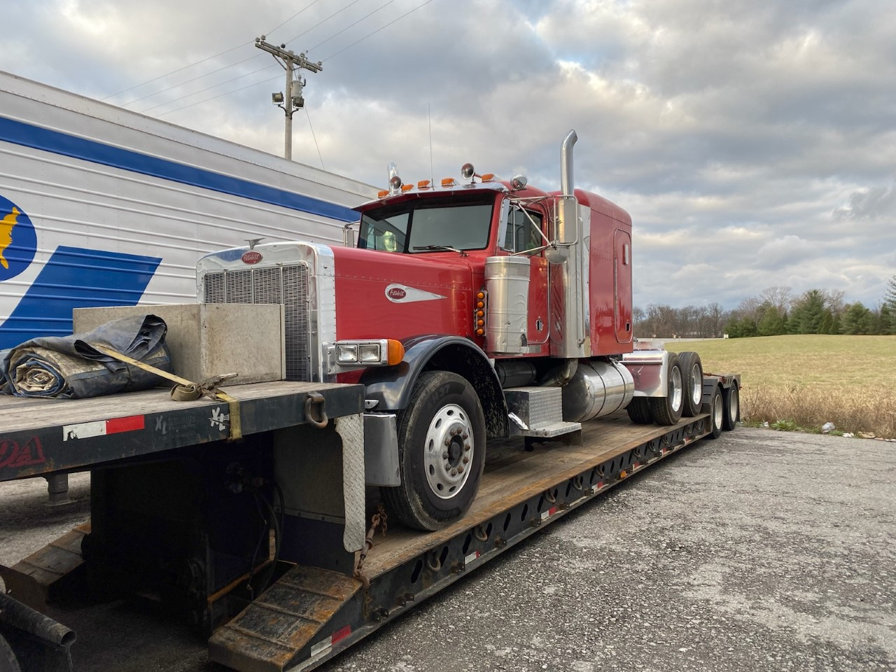 Shipping a peterbilt in Delaware