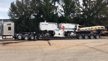 Shipping a Roadtec cold planer