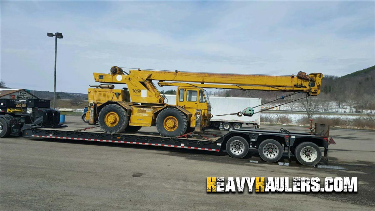 Crane Shipping Services | Heavy Haulers | (800) 908-6206