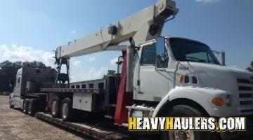 Shipping a Terex crane