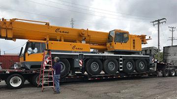 crane transport services heavy haulers 800 908 6206. Black Bedroom Furniture Sets. Home Design Ideas