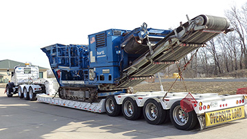 Crushing Machinery Transportation