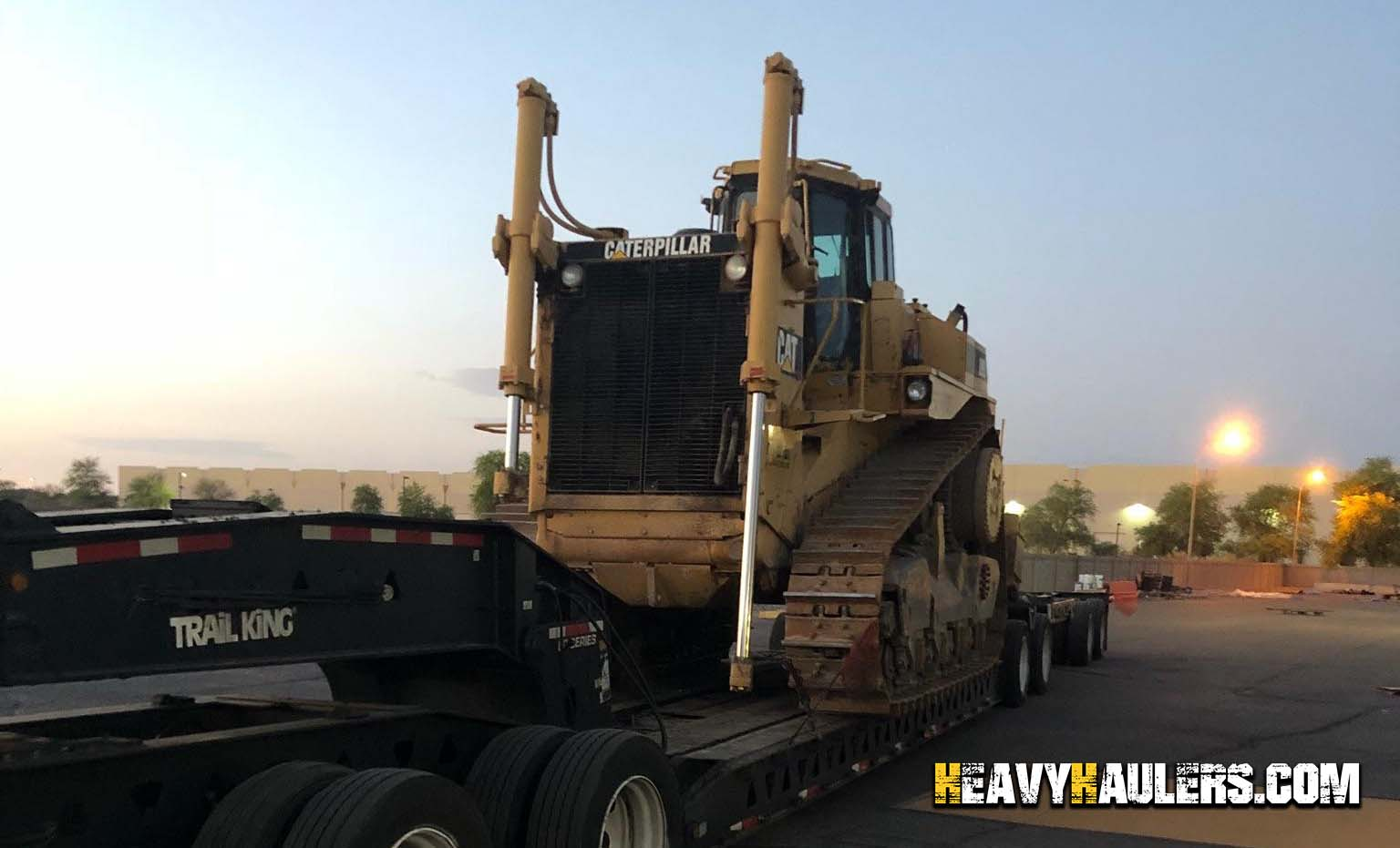Bulldozer Transport Services | Heavy Haulers | (800) 908-6206
