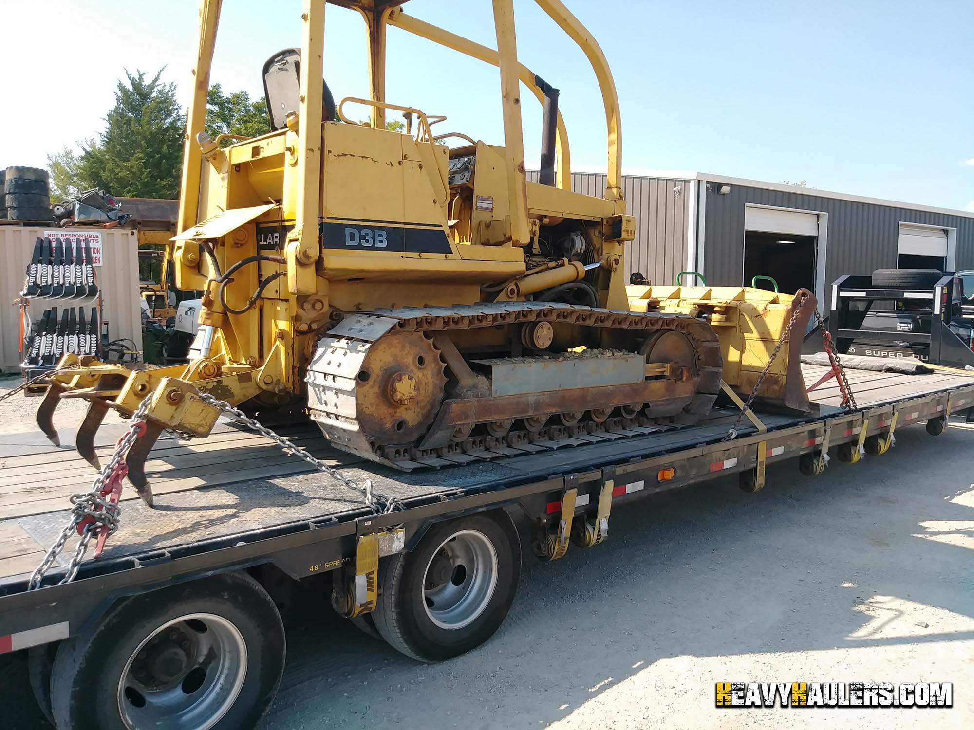 Maryland Equipment Transport Services   Heavy Haulers!