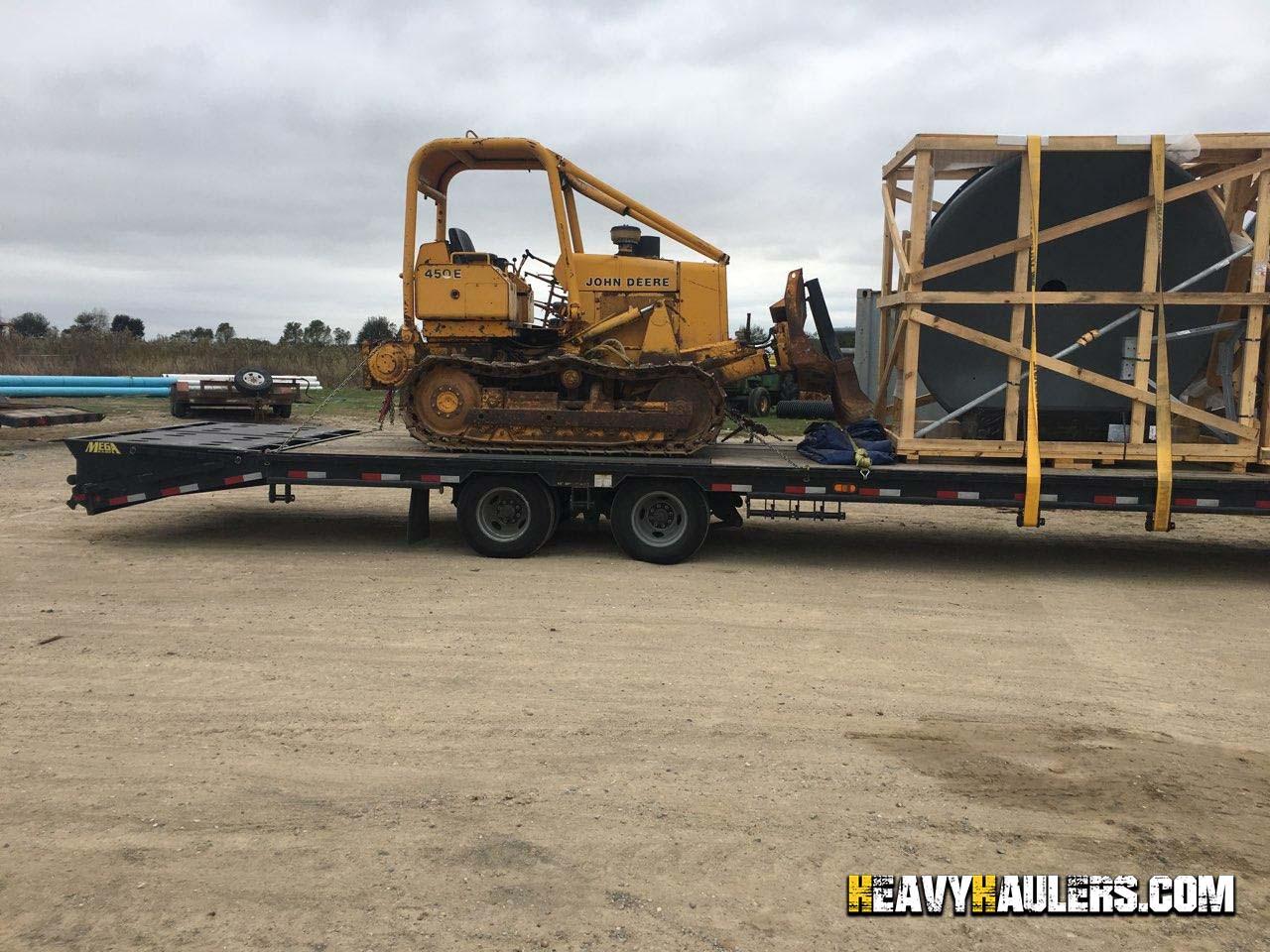 Bulldozer Transport Services   Heavy Haulers   (800) 908-6206