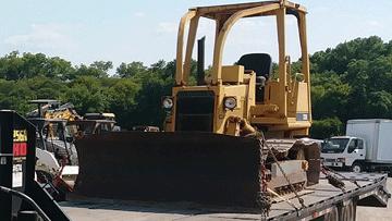 Shipping a Caterpillar D3B Crawler Tractor