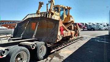 Caterpillar D6N XL Bulldozer In Transport