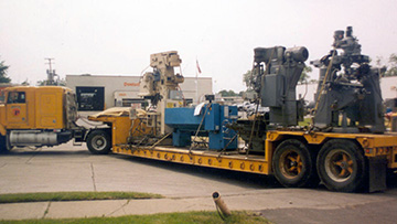 Drilling Machines Shipping