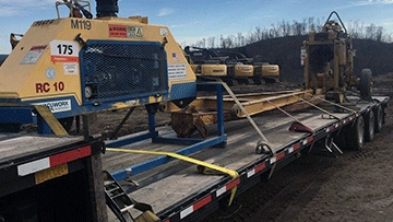 Drilling/Pipe Laying Transportation