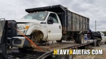 Ford dump truck transport