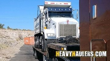 Dump truck shipping in Tennessee