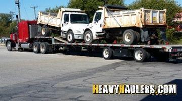 Dump truck transport in Ohio