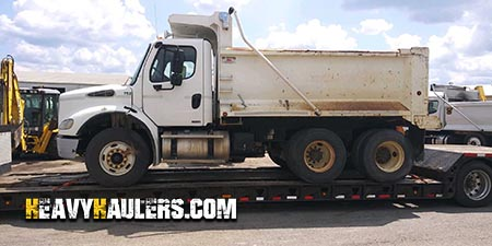 Heavy Haulers can handle shipping your dump truck