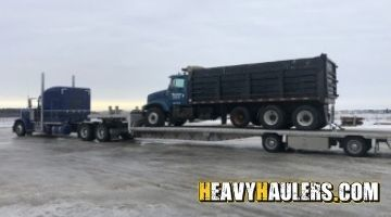 Mississippi dump truck shipping