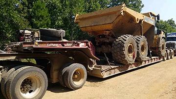 Oklahoma dump truck transport