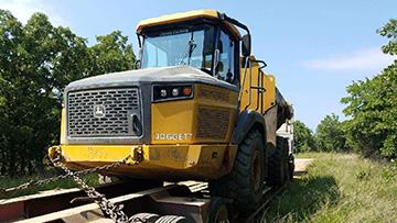 Dump truck transportation in Oklahoma