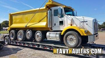 New Jersey dump truck transport