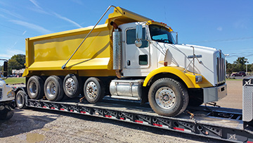 New Jersey dump truck transport