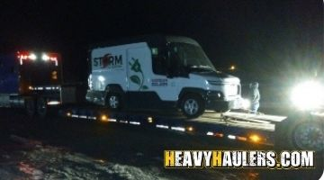 Box truck transport in Ohio