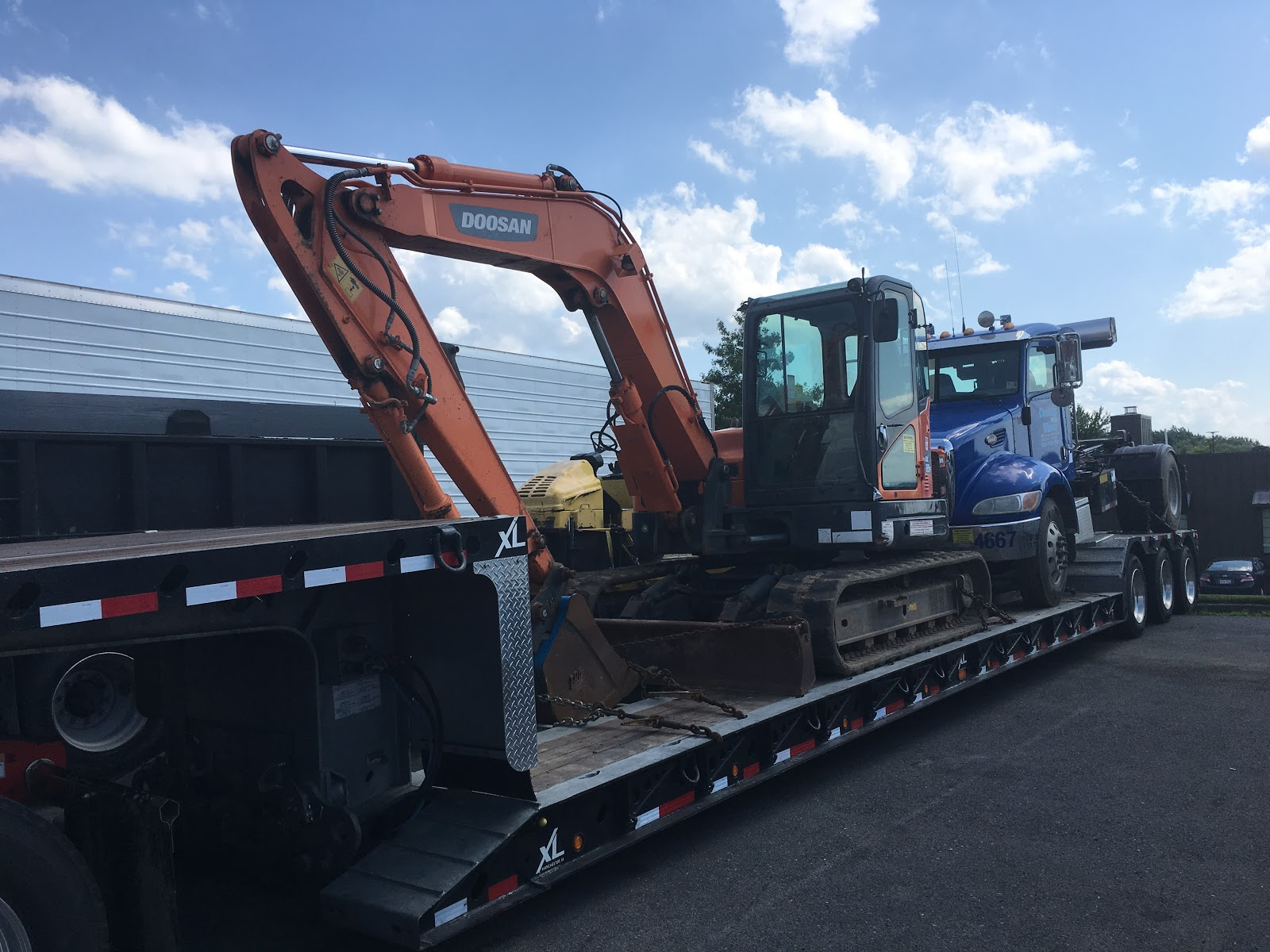 Mini Excavator Shipping Services | Heavy Haulers | (800) 908