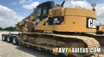 Shipping Excavator in New Jersey
